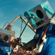"Cuerda Floja Producciones records the video of ""3n m1 lug4r"" of Robot Humano in Francisco Mata S.A."